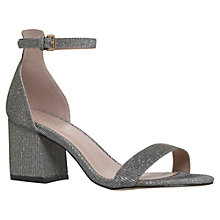 Buy Carvela Loop Block Heeled Sandals, Bronze Online at johnlewis.com