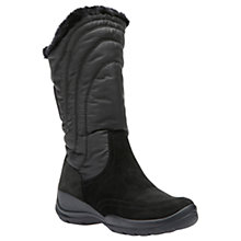 Buy Geox Hellin Amphibiox Snow Boots, Black Online at johnlewis.com