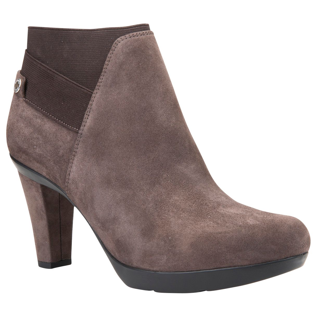 Geox Geox Inspiration High Cone Heel Ankle Boots