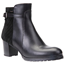 Buy Geox Lise Amphibiox Waterproof Ankle Boots, Black Online at johnlewis.com