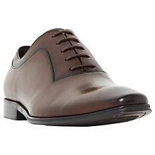 Buy Dune Rancho Oxford Shoes, Brown Online at johnlewis.com
