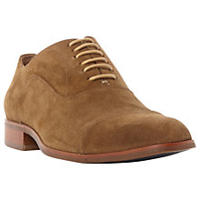 Buy Dune Runyon Suede Derby Shoes Online at johnlewis.com
