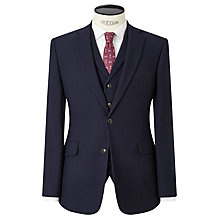 Buy JOHN LEWIS & Co. Thurloe Brushed Wool Tailored Suit Jacket, Navy Online at johnlewis.com