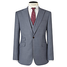 Buy JOHN LEWIS & Co. Drayton Wool Crossweave Tailored Suit Jacket, Smokey Blue Online at johnlewis.com