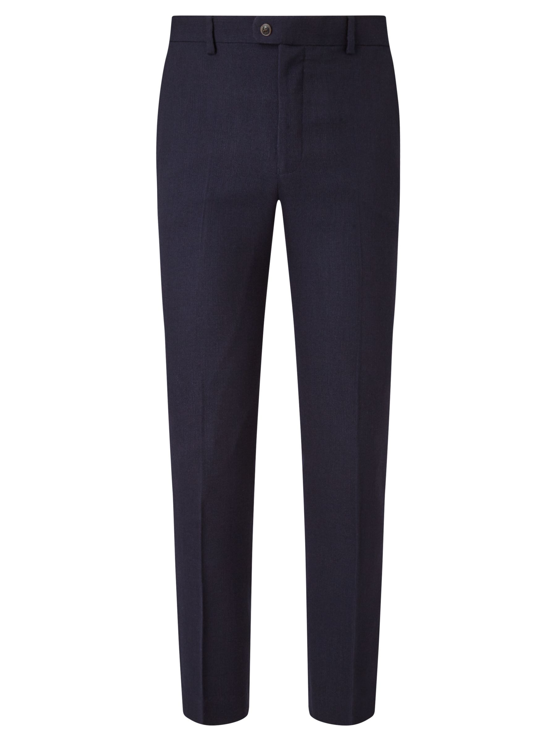 JOHN LEWIS & Co. JOHN LEWIS & Co. Thurloe Brushed Wool Tailored Suit Trousers, Navy