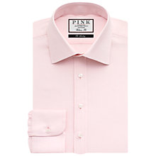 Buy Thomas Pink Arthur Plain Classic Fit Shirt, Pink Online at johnlewis.com