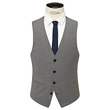 Buy Kin by John Lewis Norcott Textured Slim Fit Waistcoat, Grey Online at johnlewis.com