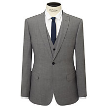 Buy Kin by John Lewis Norcott Textured Slim Fit Suit Jacket, Grey Online at johnlewis.com