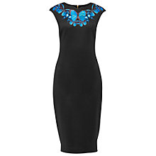 Buy Ted Baker Ashey Butterfly Collective Necklace Dress, Black Online at johnlewis.com