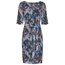 Buy Reiss Ardant Printed Dress, Multi Online at johnlewis.com