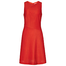 Buy Reiss Magda Fit And Flare Dress, Clementine Online at johnlewis.com