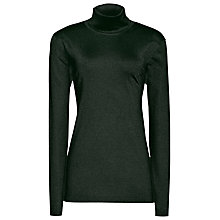 Buy Reiss Sassy Sparkle Roll Neck Top Online at johnlewis.com