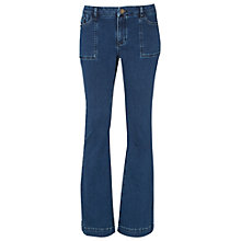 Buy White Stuff Tabby Bootcut Jeans, Mid Denim Online at johnlewis.com