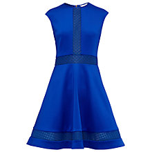 Buy Ted Baker Glorry Mesh Detail Full Skirt Dress Online at johnlewis.com
