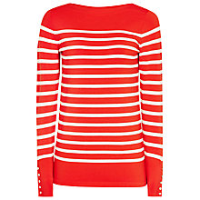 Buy Reiss Oxford Nautical Striped Jumper, Clementine Online at johnlewis.com