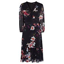 Buy Karen Millen Photographic Orchid Dress, Multicolour Online at johnlewis.com