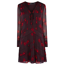 Buy Karen Millen Geo Print Shirt Dress, Multi Online at johnlewis.com
