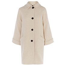 Buy Karen Millen Swing Coat, Neutral Online at johnlewis.com