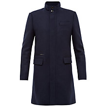 Buy Ted Baker Logan Funnel Neck Coat Online at johnlewis.com