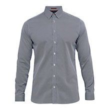 Buy Ted Baker T for Tall Tentt Geo Print Cotton Shirt Online at johnlewis.com