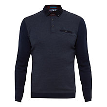 Buy Ted Baker Rick Knitted Polo Shirt Online at johnlewis.com