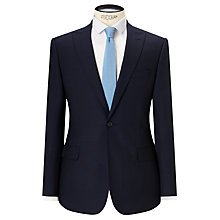 Buy Kin by John Lewis Risdon Jacquard Weave Slim Fit Suit Jacket, Navy Online at johnlewis.com