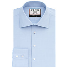 Buy Thomas Pink Anders Check Classic Fit XL Sleeve Shirt, Pale Blue/White Online at johnlewis.com