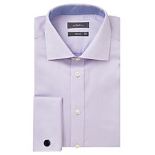 Buy John Lewis Dobby Double Cuff Tailored Shirt Online at johnlewis.com