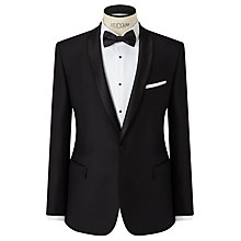 Buy John Lewis Shawl Lapel Slim Fit Dress Suit Jacket, Black Online at johnlewis.com