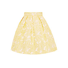 Buy John Lewis Heirloom Collection Girls' Floral Skirt, Yellow Online at johnlewis.com