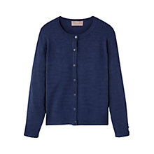 Buy Mango Kids Girls' Ribbed Detail Cardigan Online at johnlewis.com
