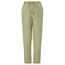 Buy Collection WEEKEND by John Lewis Drawstring Waist Chino, Stone Online at johnlewis.com
