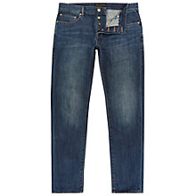 Buy Ted Baker Steed Straight Jeans, Dark wash Online at johnlewis.com