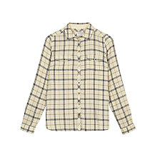 Buy Fat Face Rosie Grid Check Shirt, Cotton Seed Online at johnlewis.com