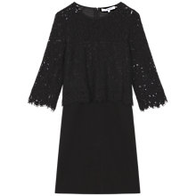 Buy Gerard Darel Valse Dress, Black Online at johnlewis.com