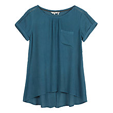 Buy Fat Face Zoe Longline Plain Top Online at johnlewis.com