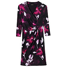 Buy Precis Petite Aida Jersey Print Dress, Multi/Pink Online at johnlewis.com
