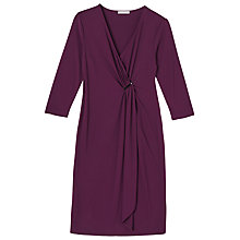 Buy Precis Petite Eleanor Three-Quarter Sleeve Wrap Dress Online at johnlewis.com