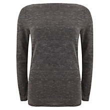 Buy Mint Velvet Jersey T-Shirt, Grey Online at johnlewis.com