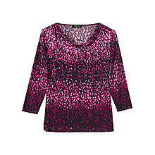 Buy Precis Petite Renan Jersey Top, Multi Online at johnlewis.com