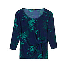Buy Precis Petite Bethany Printed Top, Multi/Green Online at johnlewis.com