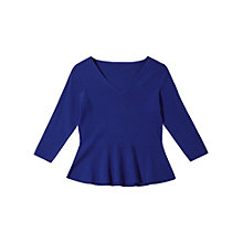 Buy Precis Petite Arianna Jumper, Cobalt Online at johnlewis.com