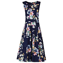 Buy Jolie Moi 50s Floral Pleated Dress Online at johnlewis.com