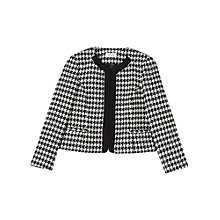 Buy Precis Petite Daena Houndstooth Jacket, Multi Online at johnlewis.com
