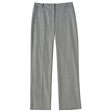 Buy Precis Petite Avalana Wide Leg Trousers, Mid Grey Online at johnlewis.com