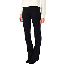 Buy Precis Petite Jeff Banks Flared Jeans, Black Online at johnlewis.com