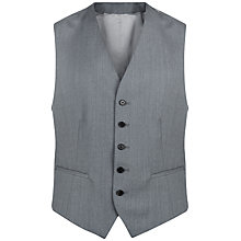Buy Jaeger Wool Regular Fit Waistcoat, Grey Online at johnlewis.com