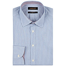 Buy Jaeger Double Stripe Slim Fit Shirt Online at johnlewis.com