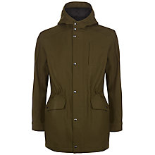 Buy Jaeger Hooded Parka Jacket, Olive Online at johnlewis.com