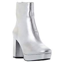 Buy Steve Madden Peace Platform Block Heeled Ankle Boots Online at johnlewis.com